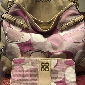 Handbags - Authentic Coach purse with wallet